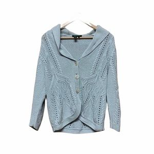 Vintage Ralph Lauren Button Knit Cardigan Sweater